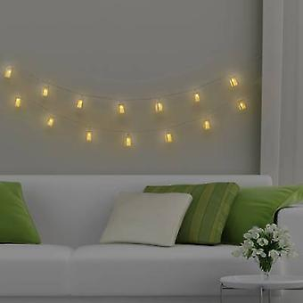 Polarlite WS-131017909 16LAP Holiday lights (motif) Lanterns Inside mains-powered No. of bulbs 16 LED (monochrome) Warm white Illuminated length: 3.5 m