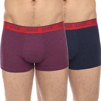 Hom Boxerlines Boxer korte 2-Pack, vlam, Medium