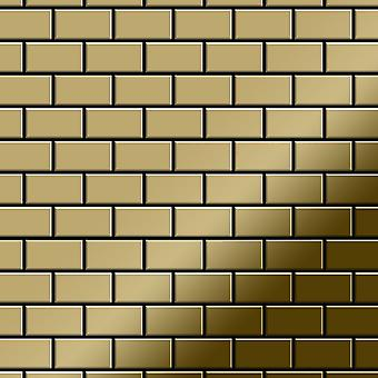 Metall mosaikk TITANLEGERING House-Ti-GM