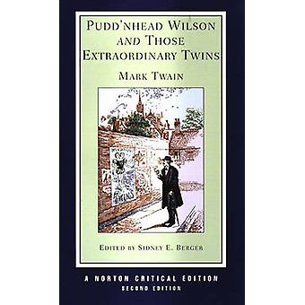 Pudd'nhead Wilson and Those Extraordinary Twins by Mark Twain - 97803
