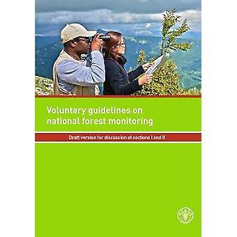Frivilliga riktlinjer för National Forest övervakning av livsmedels- och Agricu