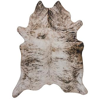 Texas Faux Cowhide Rugs In Grey
