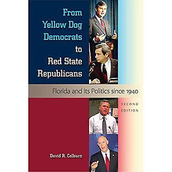 Da cane giallo democratici ai repubblicani di stato rosso