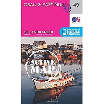 Oban & East Mull (OS Landranger mapę)