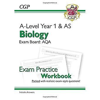 Neue A-Level Biologie für 2018: AQA Jahr 1 & AS Prüfung Praxis Arbeitsmappe - finden Sie auch Antworten