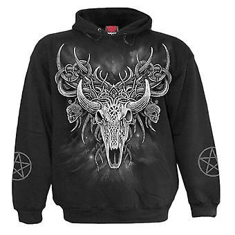 Spiral Black Horned Spirit Hoodie XXL