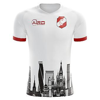 2020-2021 スパルタクモスクワホームコンセプトサッカーシャツ