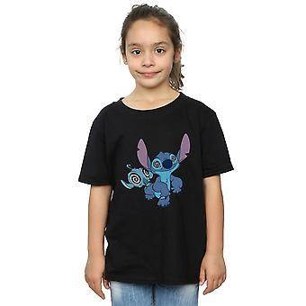 Disney Girls lilo a Stitch hypnotizovaný T-shirt