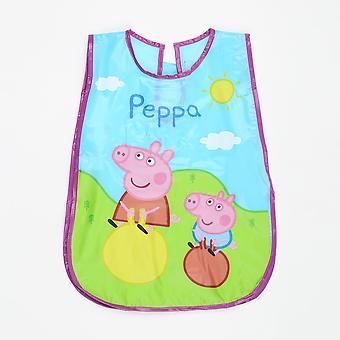 Peppa Pig Bavagliolo Grembiule Cerato