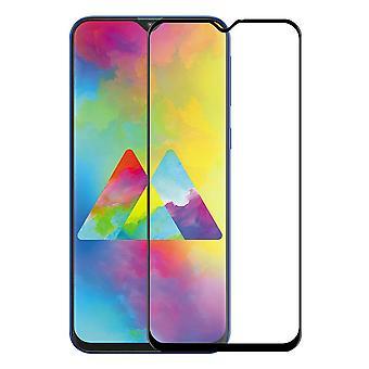 Para Samsung Galaxy M20 9 d premium 0,3 mm proteção de slide preto de vidro duro H9 cobrir novo
