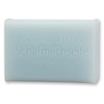 Florex Schafmilchseife Vergissmeinnicht blumige Duftnote verzaubert jedes Badezimmer 100g