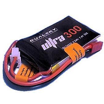0300 mAh 50 / 100C 2s1p 7,4 v, 5 C charge