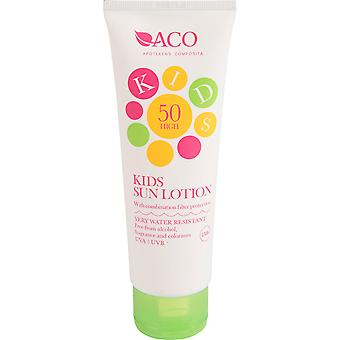 ACO Kids Sun Lotion Filter Protection Spf 50 125ml