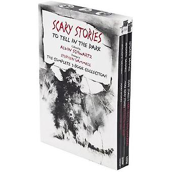 Scary Stories Set - The Complete 3-Book Collection by Alvin Schwartz -