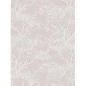 Whispering Trees Wallpaper - Rosa Oscuro - Decoración Holden 65400
