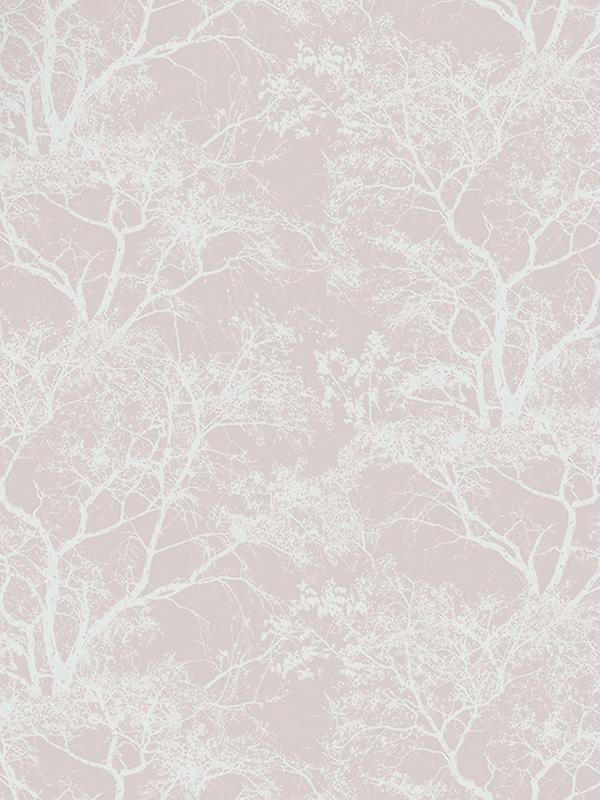 Whispering Trees Wallpaper - Dusky Pink - Holden Decor 65400