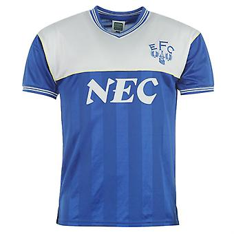 Score Draw Everton 1986 Home Shirt