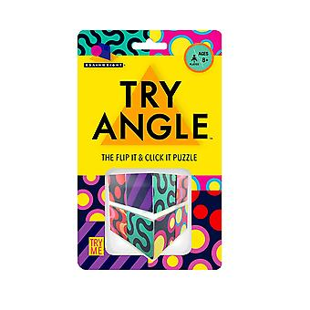 Spiele - Ceaco Brainwright - Try Angle - The Flip It & Click It Puzzle New 8015d