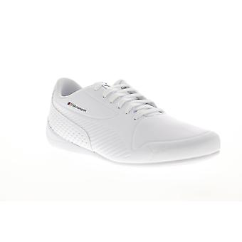 Puma BMW M Motorsport Drift Cat 7S Ultra Mens White Leather Low Top Racing Shoes