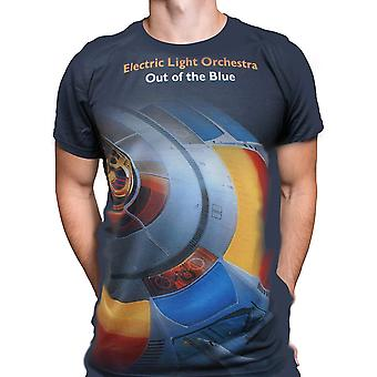 Born2rock - out of the blue - elo mens t-shirt