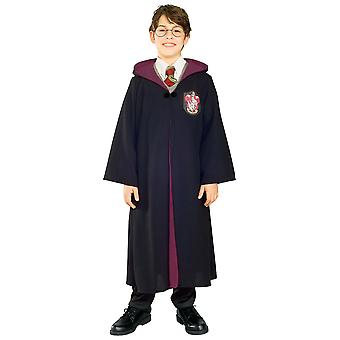 Harry Potter Deluxe Hogwarts Licensed Robe Book Week Child Boys Costume