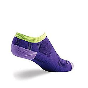 Socks - SockGuy - Channel Air No Show Grape Aid S/M Cycling/Running