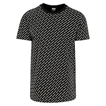Urban Classics Men's T-shirt allover logo thee