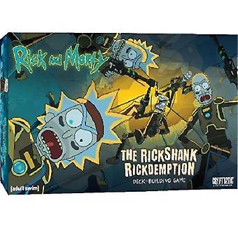 Rick and Morty The Rickshank Rickdemption Deck-Building Game