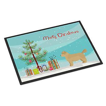 Westiepoo #1 Christmas Tree Indoor or Outdoor Mat 24x36