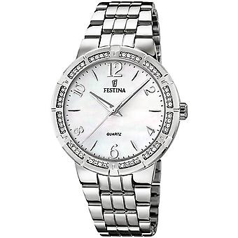 Festina Mademoiselle Quartz Analog Women's Watch with Stainless Steel Bracelet F16703/1