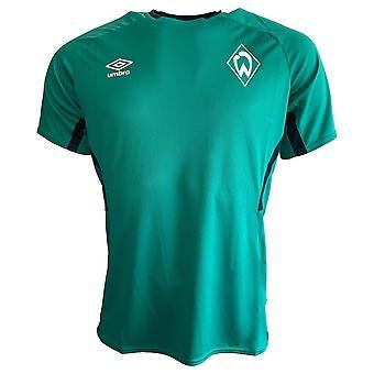 2019-2020 Werder Bremen Umbro Training Shirt (Green)