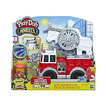 Spil-DOH hjul fire Truck