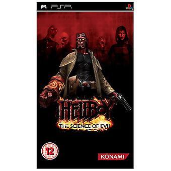 Hellboy vetenskapen om Evil (PSP)-ny