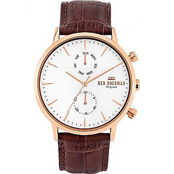 BEN SHERMAN - Watch - Men - WB041TRG - PORTOBELLO PROFESSIONAL MULTI
