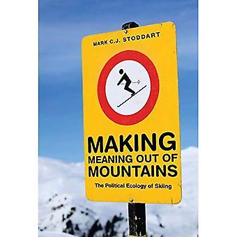 Maken van betekenis uit bergen