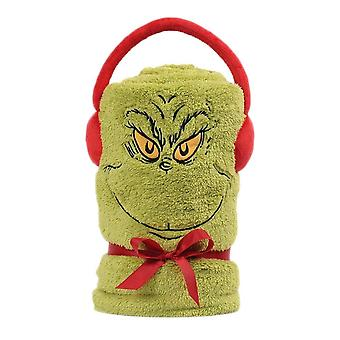 Dr. Seuss The Grinch Fleece Throw
