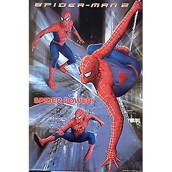 Spiderman 2 (Spider Power Reprint) (2004) Reprint Cinema Poster