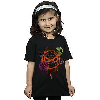 Marvel Girls Halloween Spiderman Icon T-Shirt