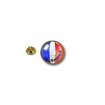 باين بينس دبوس شارة دبوس أبوس؛ s المعدنية راكب الدراجة النارية راكب الدراجة النارية العلم بالون القدم فرنسا