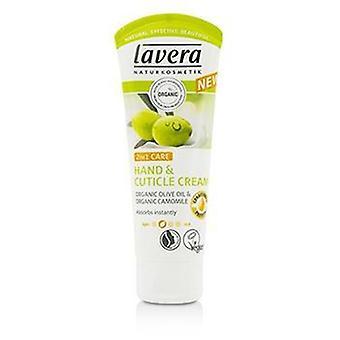 Lavéra orgaaninen oliiviöljy & kamomilla 2 In 1 hoito käsi ja kutikula kerma 61947/107086 - 75 ml/2.5 oz