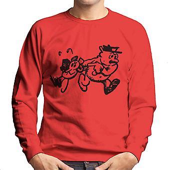 Krazy Kat Ignatz Caught Men's Sweatshirt