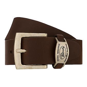 Teal Belt Men's Belt Leather Belt Jeans Belt Brown 8251