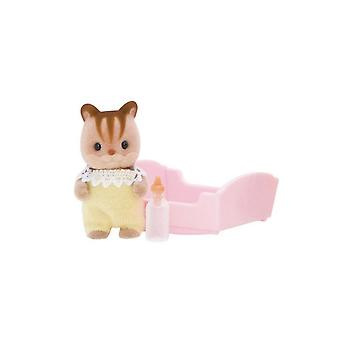 Sylvanian Families 5065 Walnut Squirrel Baby