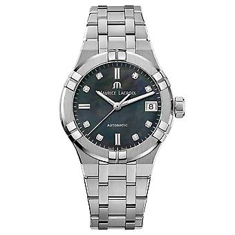 Maurice Lacroix AI6006-SS002-370-1 Women's Aikon Diamond Automatic Wristwatch
