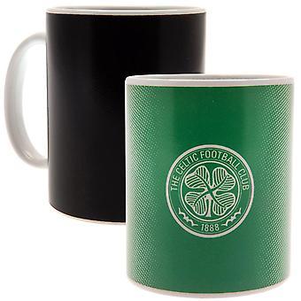 Celtic FC värmeväxling mugg