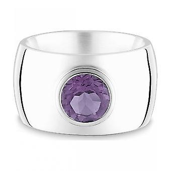Quinn-zilveren ring met amethist, klassiekers & Co-021011633
