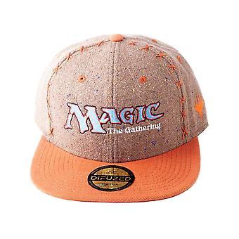 Magic de Gathering Baseball Cap kern logo nieuwe officiële Brown SnapBack