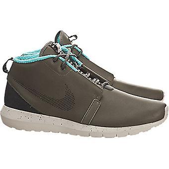 Nike Mens Rosherun NM SneakerBoot Premium Boots Cargo Khaki/Granite/Hyper Jad...