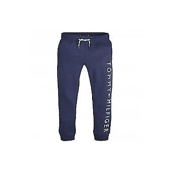 Tommy Hilfiger Boys Tommy Hilfiger Men's Navy Logo Jogging Bottoms