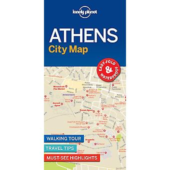Lonely Planet Athens City Map by City Map
